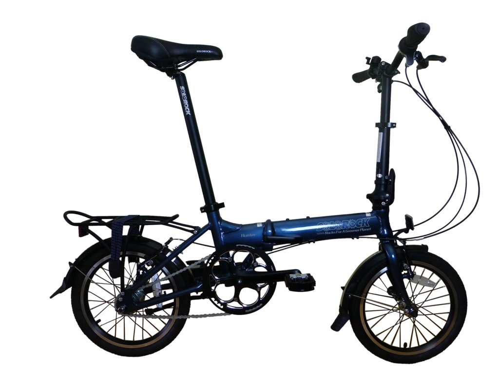 SoloRock 16-Inch 3 Speed IHG Aluminum Folding Bike