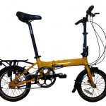 SoloRock 16-Inch 9 Speed Aluminum Folding Bike