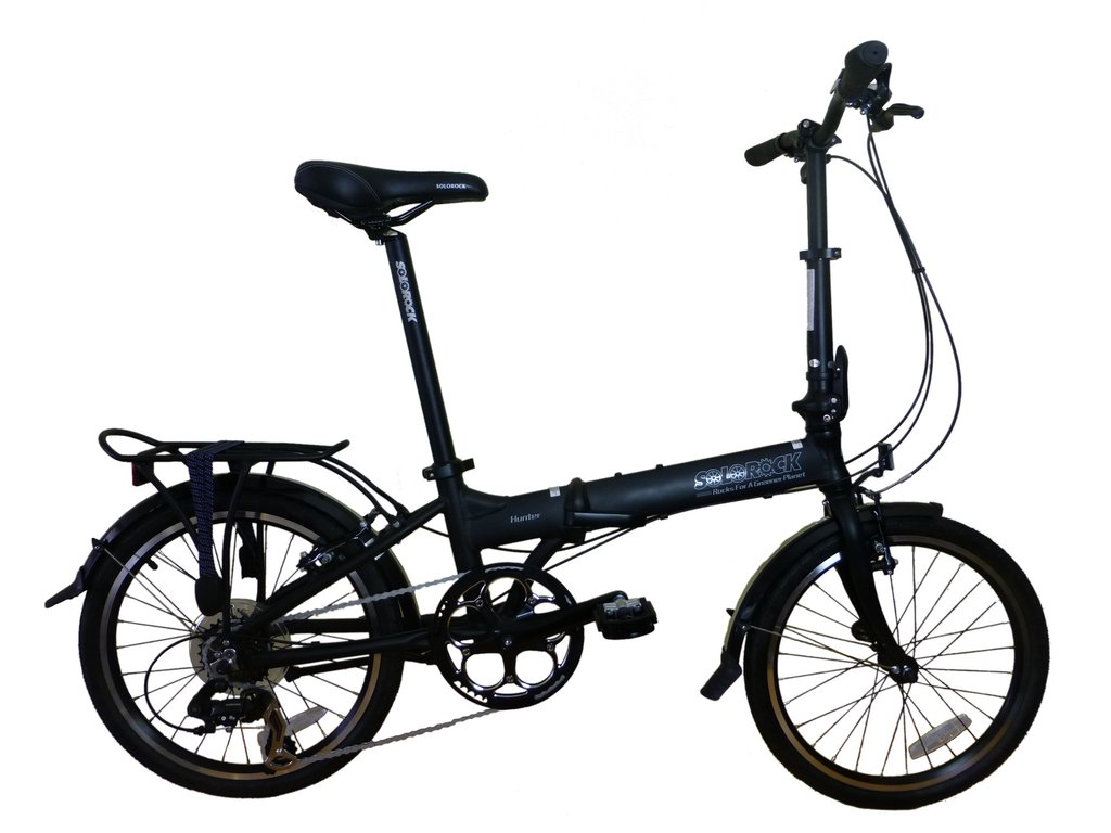 SoloRock 20-Inch 9 Speed Aluminum Folding Bike